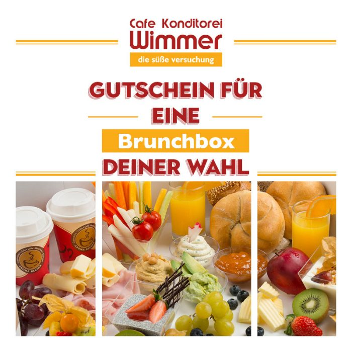 Brunch Box Gutschein | Cafe Konditorei Wimmer in Timelkam
