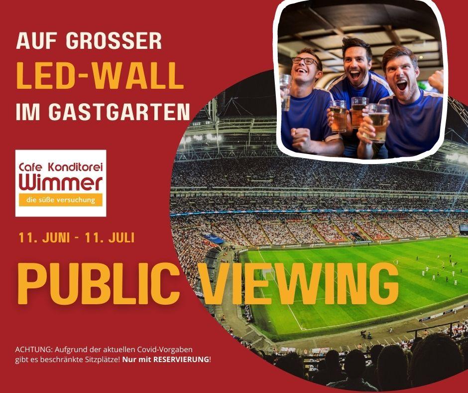 EM 2021 - Public Viewing in Timelkam, Vöcklabruck